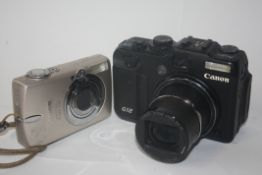 Canon G12 together with Canon digital Ixus 750