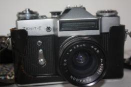 Zenit-E film camera