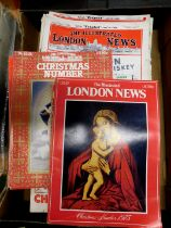 Box The Illustrated London News, 40+ issues 1947-84