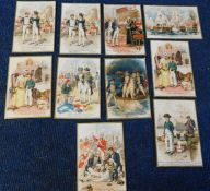 Two old postcard albums containing circa 85 picture postcards with railway, maritime, UK
