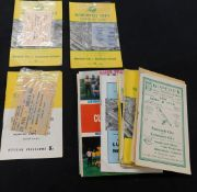 Box sporting mainly soccer interest including 26 Norwich City programmes, 1951-80, including FA