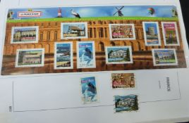 France, 1849-2010 large mint and used stamp collection in three Davo albums, very early issues,