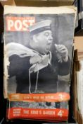 Box Picture Post, 33 assorted issues 1939-53
