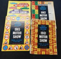 Packet Daily Express Motor Show Reviews, 1961-69 (9)