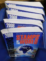 Stanley Gibbons Simplified Catalogue, Stamps of the World, 2008 edition, 5 vols