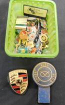 Carton assorted transport badges etc