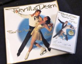 Jane Torville & Christopher Dean, World Tour souvenir programme, signed by both + official video (