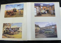 Two modern photo albums, mainly transport related photos