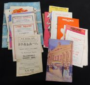 Packet 27 assorted theatre programmes, 1949-77 plus 4 other programmes (31)