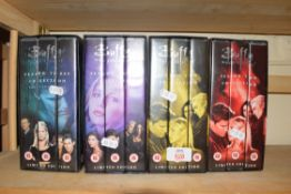 QTY OF BUFFY THE VAMPIRE SLAYER BOXED VIDEO SETS