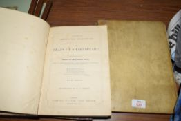 TWO VOLS CASSELLS ILLUSTRATED SHAKESPEARE TOGETHER WITH A FURTHER 19TH CENTURY ITALIAN BOOK (3)