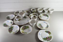 QTY OF ROYAL VALE TEA WARES