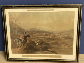 """Set of 4 hunting prints, after Alken, """"Moore's Tally Ho! To the Sports"""", """"The Noble Tops"""", """""""