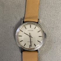Gents stainless steel case Longines Conquest automatic wrist watch, 42mm stainless steel case