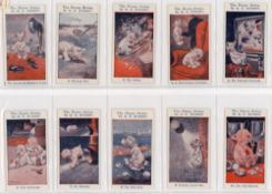 'The Bonzo Series By G.E. Studdy'. Full set of twenty five cigarette cards issued c.1923. Cards
