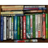 Cricket biographies. A good selection of fifty six mainly modern hardback biographies, with some