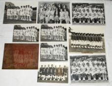 New Zealand women's cricket. A selection of photographs and press cuttings relating to women's