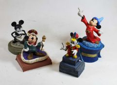A collection of four Walt Disney Classic Collection figure groups to include How to Fly, Long Live
