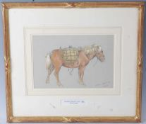 Edward Hargett (Scottish 1835-1895) - Scallywag, pencil and watercolour, signed and titled lower