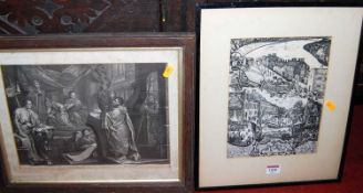 Sundry pictures and prints, to include engravings, botanical example etcCondition report: Please see