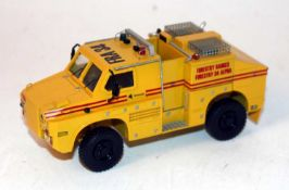 A CYP Models of Cyprus 1/50 scale resin factory built model of a Fire King, Australian Bush Fire