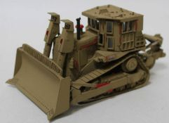 A CYP Models of Cyprus 1/48 scale resin factory hand built model of a DOOBI D9R Caterpillar Military