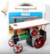 Mamod TE 1a traction engine, which would benefit from cleaning, sold in poor condition outer box and
