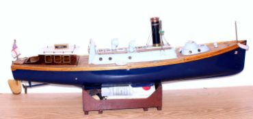 A GRP and wooden kit build and steam powered Royal Navy steam picket boat class, boat titled