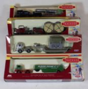 Three boxes of modern issue diecast, mainly being trackside examples by LledoCondition report: 43 in