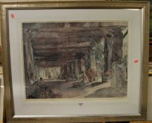 William Russell Flint - Fine Art Trade Guild lithograph, signed in pencil to the margin, 50x67cm