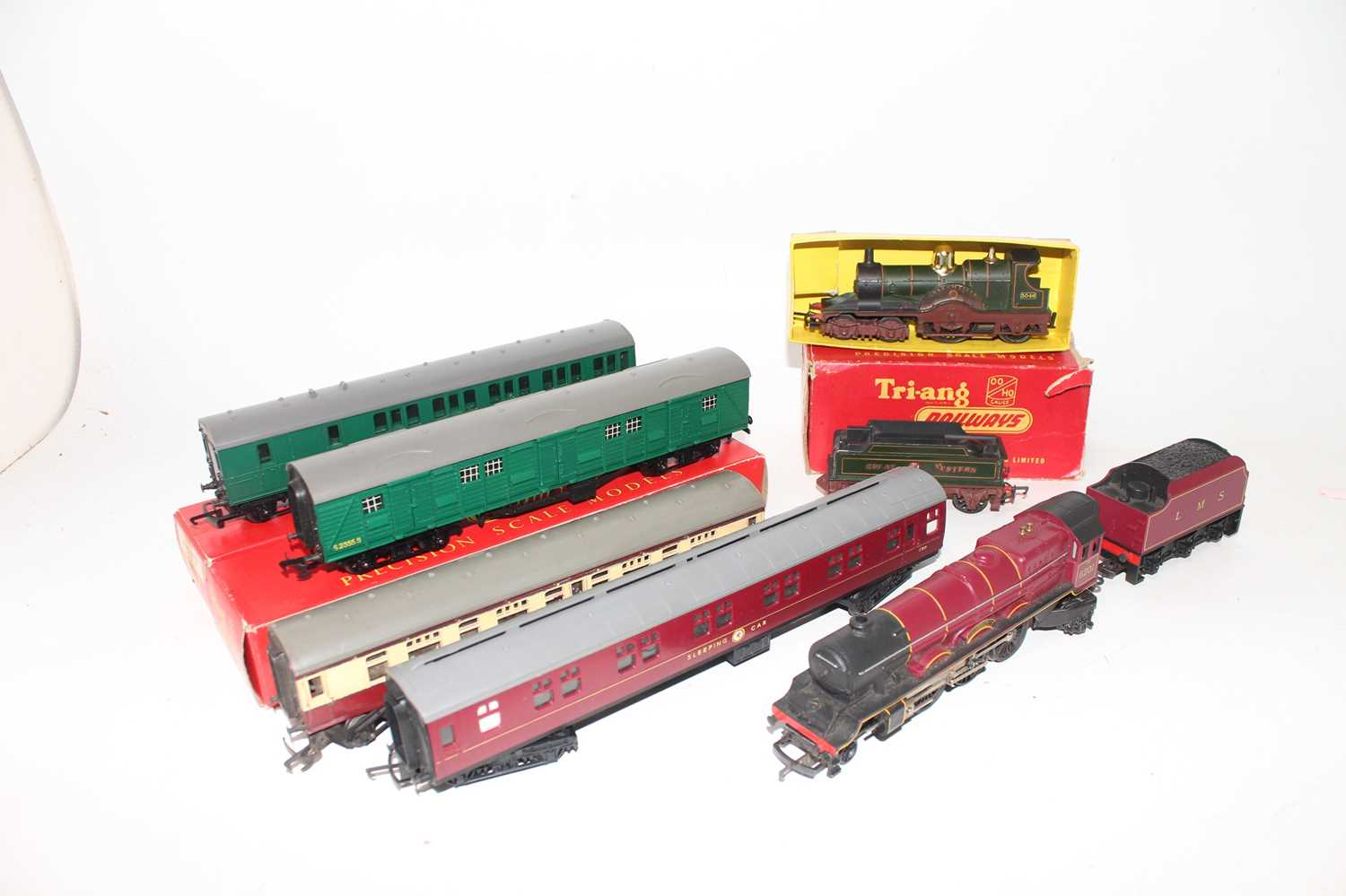 Various Triang Items to include R345S Lord of the Isles loco and tender (G), R50 Princess