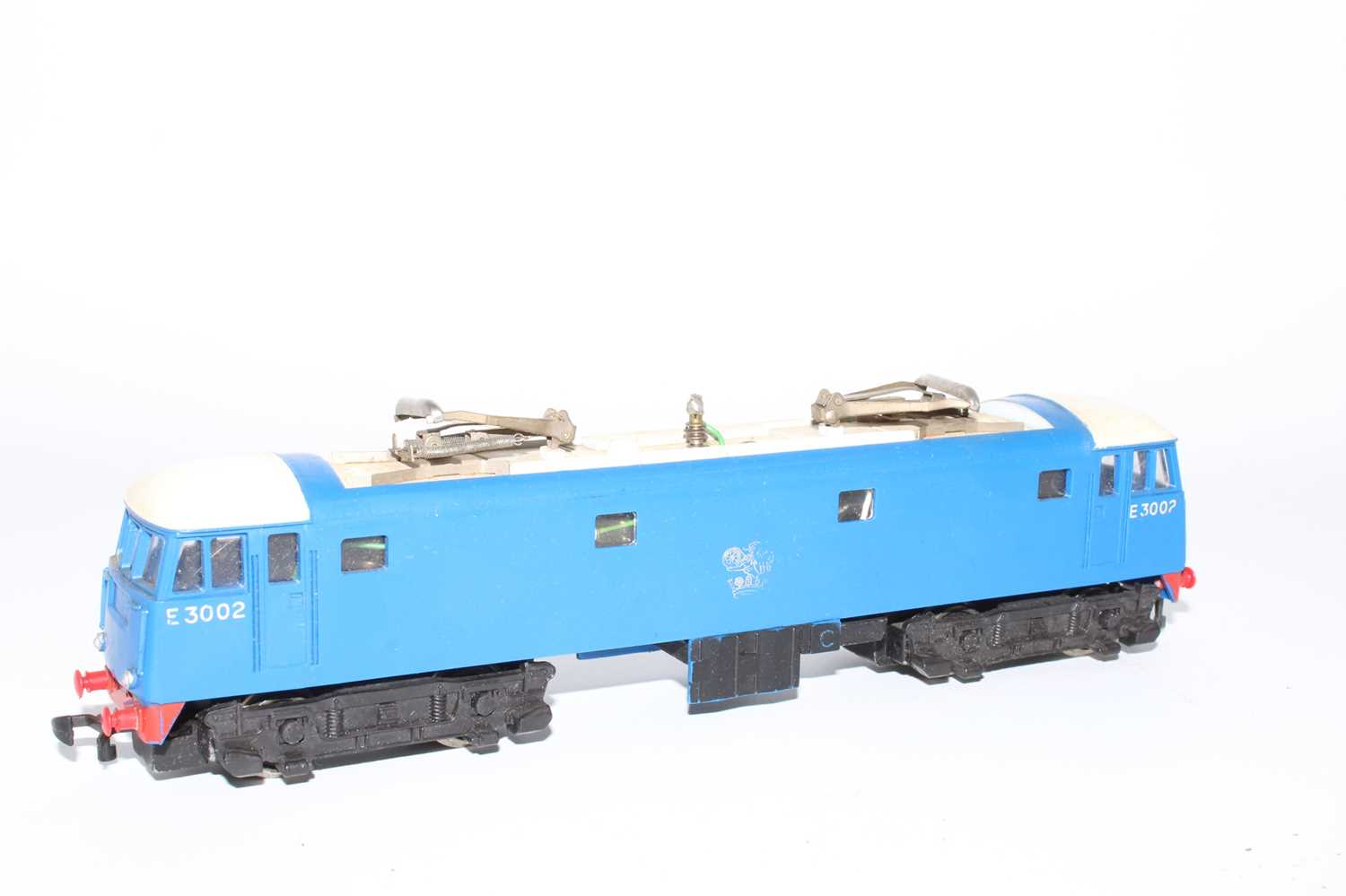 Hornby Dublo 3245 3300HP electric loco E3002, slight dullness to pantographs, silver totem rubbed - Image 3 of 6