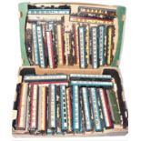 Two trays containing 39 various mixed 00 scale rolling and passenger stock, mixed brands and