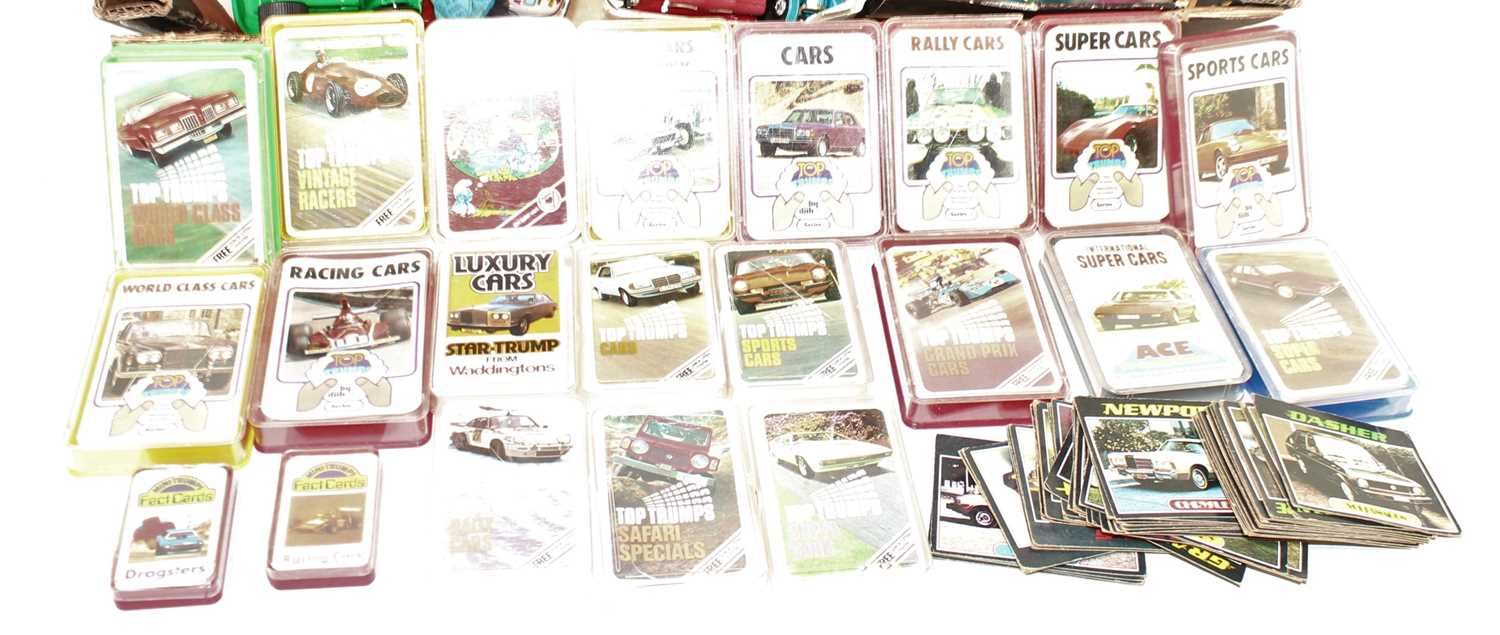 One tray containing a quantity of mixed plastic tinplate and diecast VW related collectables, - Image 2 of 2