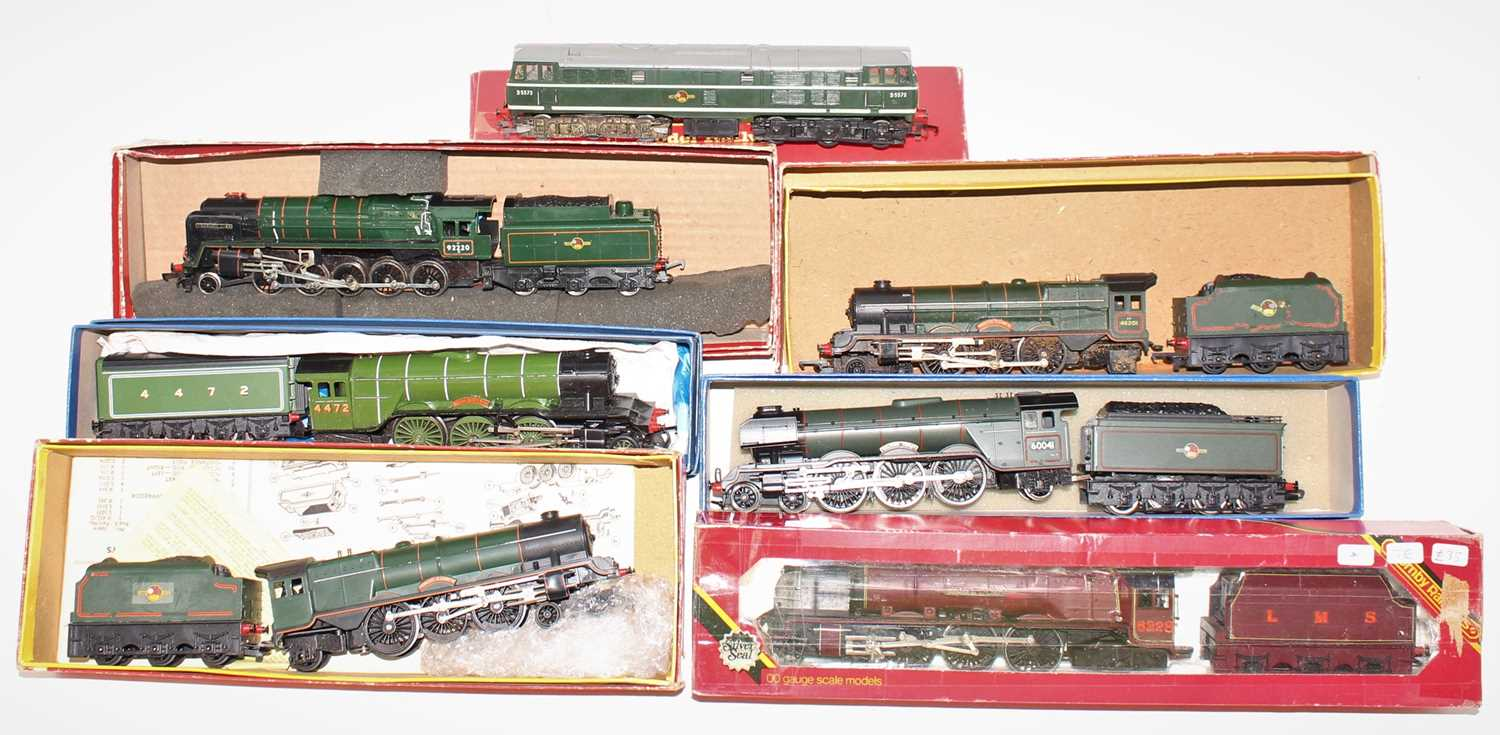 One tray containing seven various boxed, part boxed, and loose 00 gauge locomotives, to include a - Image 2 of 2