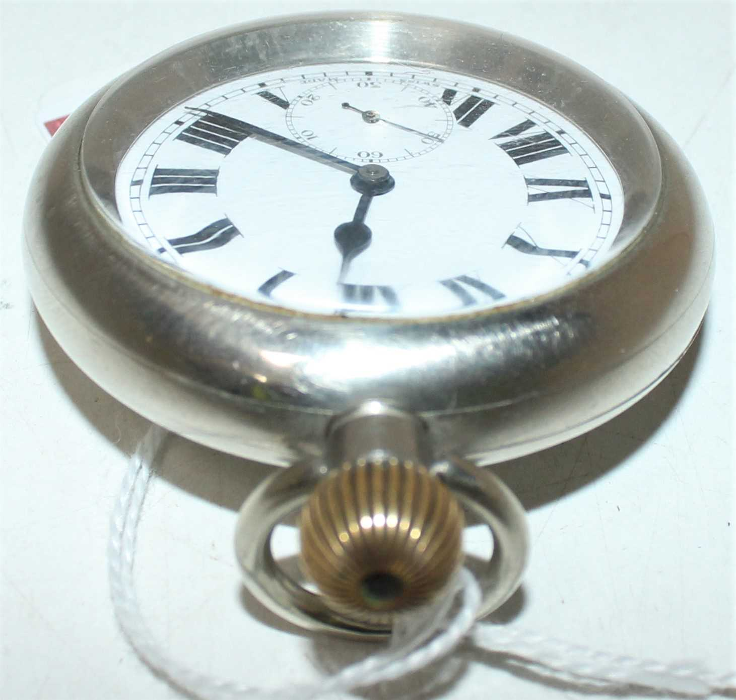 """Great Western Railway POCKET WATCH engraved on the back cover """"GWR 897"""" - Image 3 of 6"""