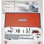 A Drake by TWH Collectables model No. T09000 1/50 scale boxed model of a Kenworth T908 pine mover
