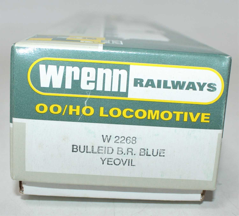 W2268 Wrenn SR Streamlined Bullied 4-6-2 loco & tender 'Yeovil' BR blue 34004, instructions (E-BNM). - Image 3 of 3