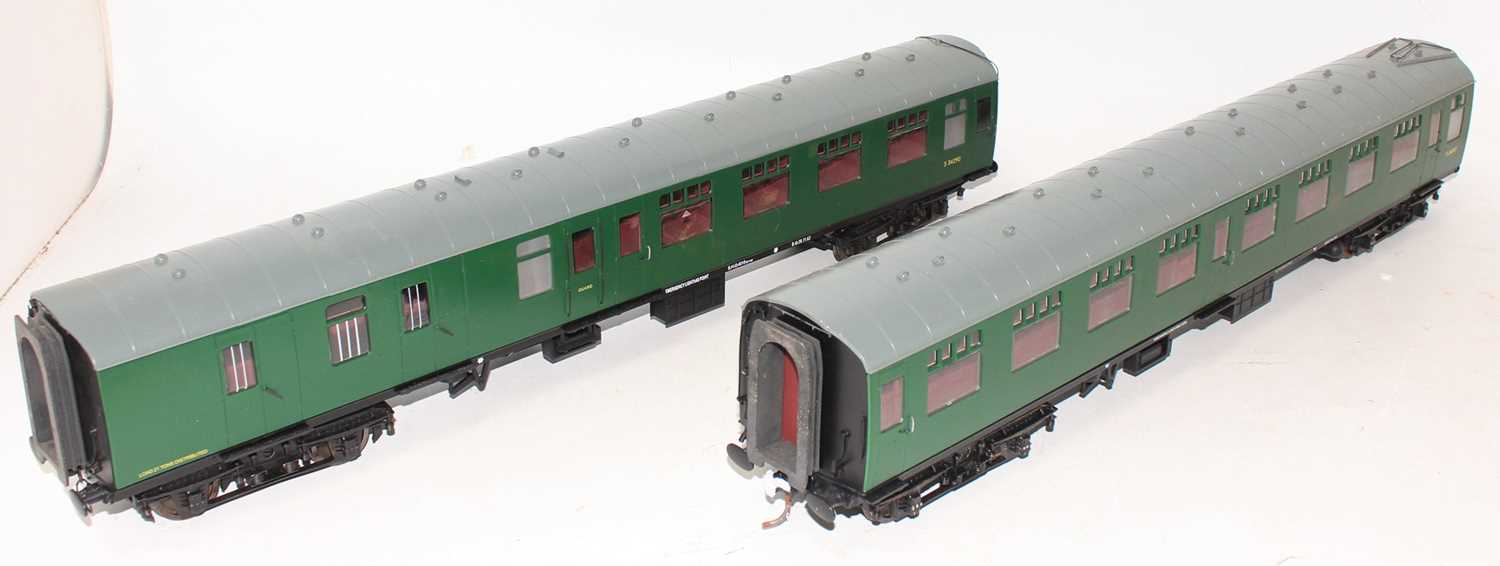 Gauge 1 Model Company coach group, 2 examples both Southern region to include S24547 and S34290, - Image 2 of 4