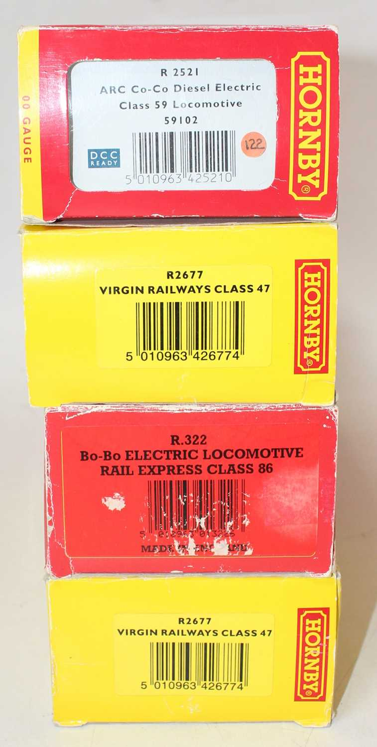 Four various boxed and incorrectly boxed Hornby diesel locomotives and rolling stock to include a - Image 2 of 2