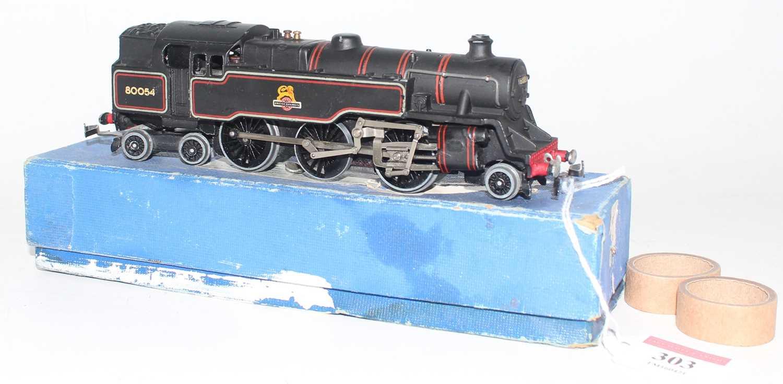 Hornby Dublo EDL18 2-6-4 Standard 4 Tank Locomotive, BR 80054, nearside rear buffer broken and - Image 2 of 2