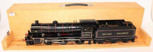 A very well engineered Gauge 1 Live Steam Spirit Fired model of a British Railway K1 Locomotive
