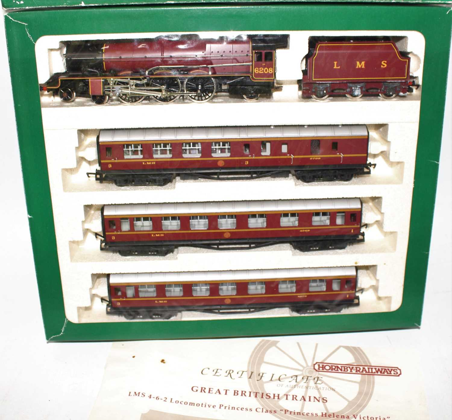 A Hornby Railways limited edition Princess Class Helena Victoria Royal Scot train pack, limited - Image 2 of 2