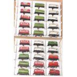 30 Hornby Dublo Tank Wagons, 8x Power, 1x Power Ethyl with Hand, 9x Esso Silver, 2x Vacuum, 7x