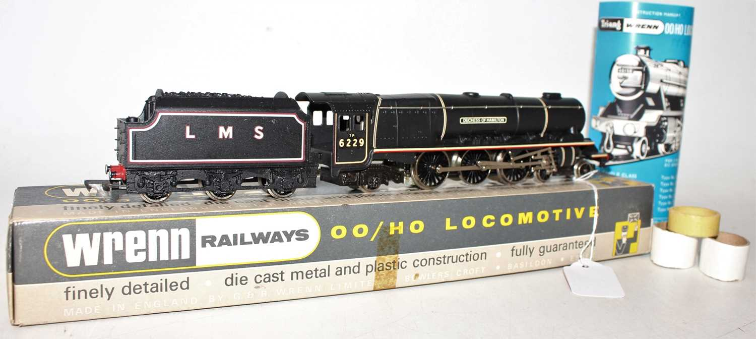 W2241 Wrenn loco & tender 'Duchess' class 4-6-2 'Duchess of Hamilton' LMS black 6229, without - Image 2 of 3