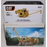 A diecast Masters Real Replicas Highline series model No. 85272 1/50 scale model of a Caterpillar
