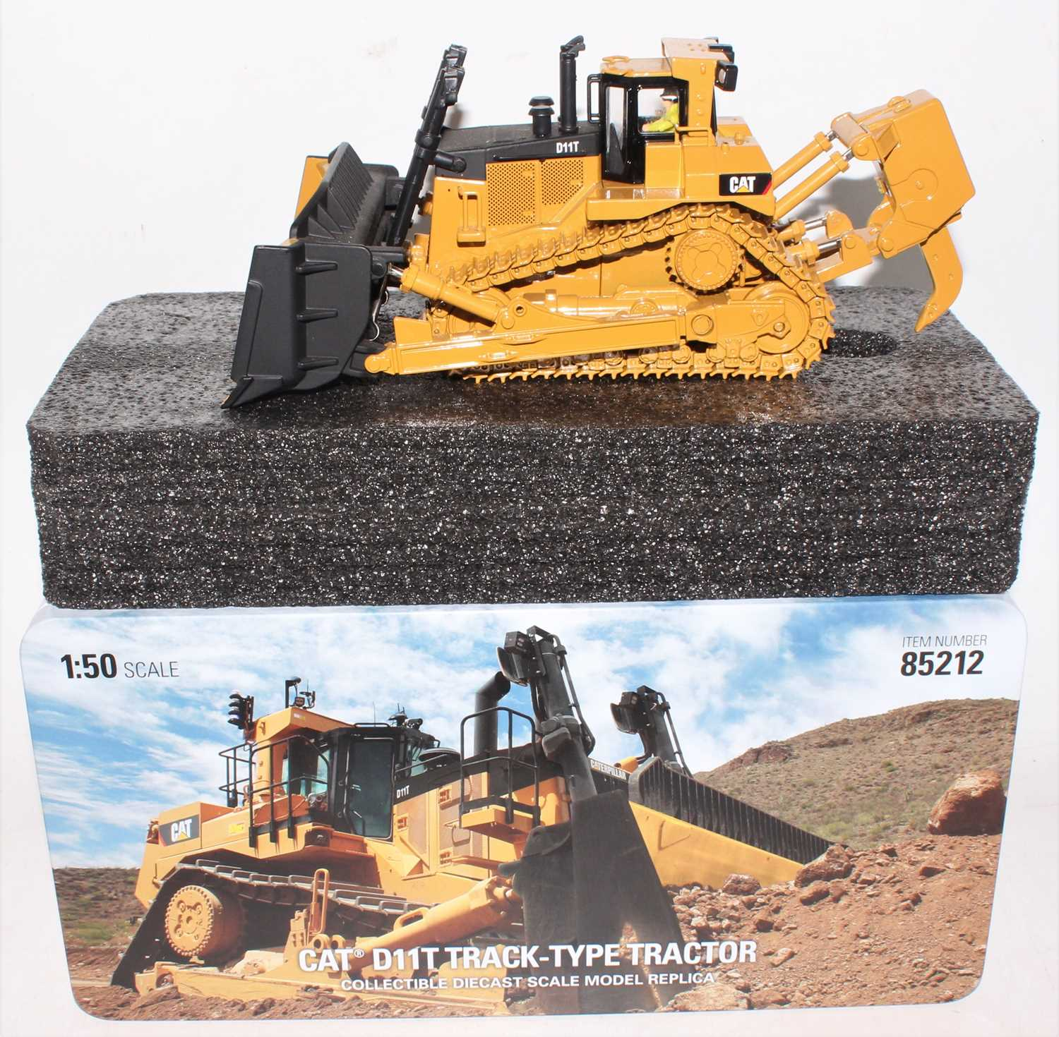 A diecast Masters Real Replicas Highline series model No.85212 1/50 scale model of a Caterpillar - Image 2 of 2