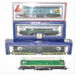 Four various boxed Lima diesel locomotives, all 00 gauge, mixed examples to include a D9015 Tulyar
