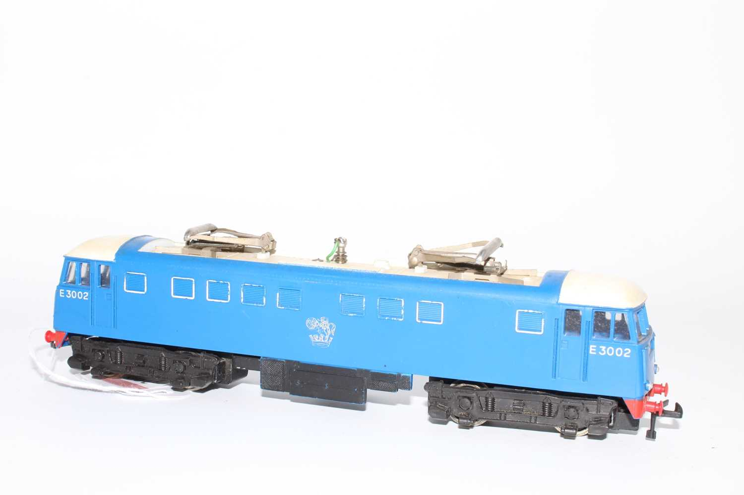 Hornby Dublo 3245 3300HP electric loco E3002, slight dullness to pantographs, silver totem rubbed - Image 4 of 6