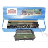 """Hornby Dublo EDL12 4-6-2 """"Duchess of Montrose"""" Loco and tender, matt, very few marks but would"""